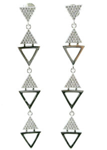 Top Popular Fashion Jewelry for Woman 925 Silver 3A CZ Earring (E6461) pictures & photos
