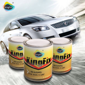 Kingfix Auto Refinish 2k Solid Black Car Paint pictures & photos