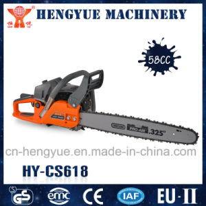 Wood Cutting Chain Saw with Gasoline Tank pictures & photos