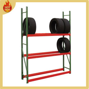 Medium Duty Adjustable Steel Warehouse Tire Rack for Sale pictures & photos