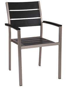 Wholesales Supplies Outdoor Plastic Plywood Dining Chair (DC-15501) pictures & photos