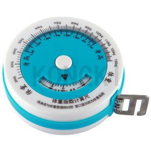 Large Round Shape Kongki Brand Wholesale Mini Body Measuring Tape to Print Logo
