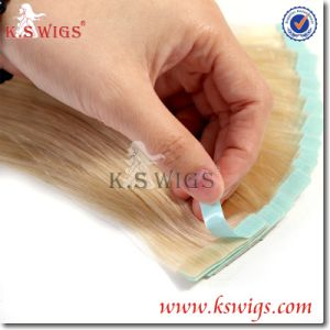 2015 Best Selling Tape Human Hair Extensions pictures & photos