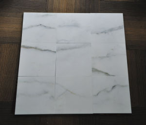 24X24 Inch Bianco Sivec Pure White Marble Tiles Slabs pictures & photos