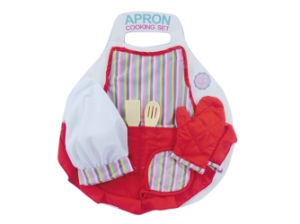 Kitchen Pretend Play Set 6PCS Apron Cooking Set (H10356001) pictures & photos