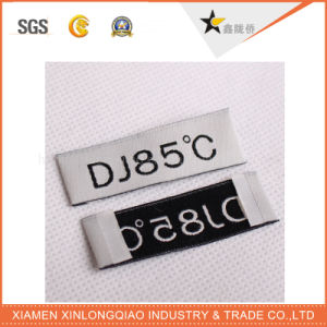 Customise Printed Garment Printing Service Tag Woven Clothing Sticker Label pictures & photos