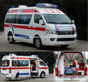 ISO, CE Approval Foton First Aid Ambulance Hospital Car (BJ6549B1) pictures & photos