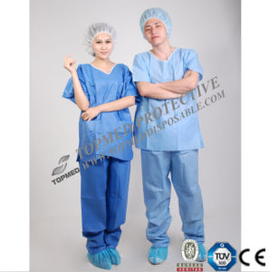 SMS Antistatic Scrub Suits, Antistatic Disposable Medical Suits pictures & photos