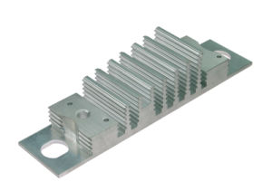 Custom Made Aluminum Extrusion with Anodizing for Industrial Equipment