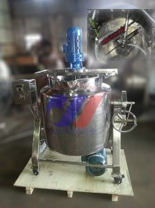 Stainless Steel Mixing Tank with Wheels pictures & photos