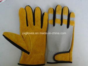 Cow Split Leather Glove-Labor Glove-Working Glove-Safety Glove pictures & photos