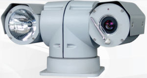 Guarantee Irradiation Light Distance Within 200m Vehicle-Mounted HID Lamp Variable Speed PTZ Camera pictures & photos