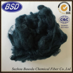 Anti-Static Colored Polyester Staple Fiber PSF for Carpet Rugs pictures & photos