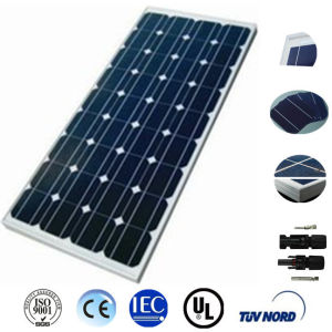 130W Mono Solar Panel for Solar System pictures & photos