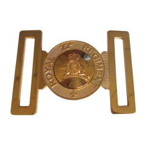 Gold Plated Belt Buckle with Special Design