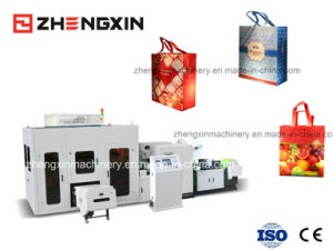 Non Woven Box Bag Making Machine (ZX-LT400) pictures & photos