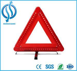 LED Warning Triangle, Reflective Safety LED Triangle, Flashing Light Warning Triangle pictures & photos