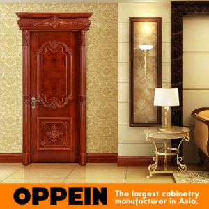 118th Canton Fair Guangzhou Oppein Wood Veneer Interior Door (DS-F9524) pictures & photos