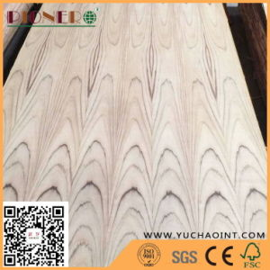 Natural Teak Veneer Faced Fancy Plywood for Furniture pictures & photos