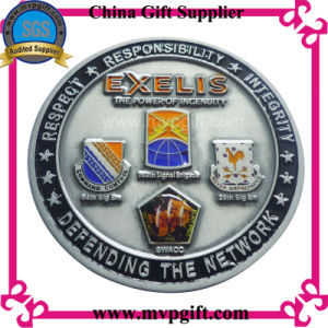 Bespoke Metal Coin with 3D Logo pictures & photos