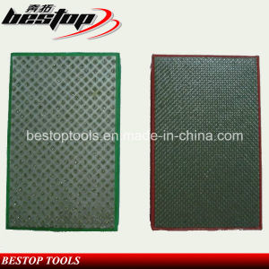 90X55mm Electroplated Hand Pad for Polishing Granite and Marble pictures & photos