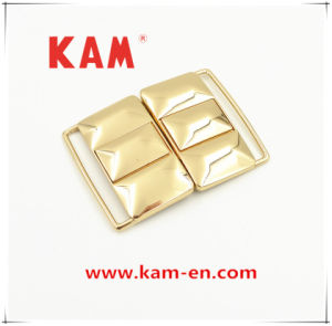 Top Quality Eco-Friendly Wholesale Lemon Gold Metal Buckle for Dress