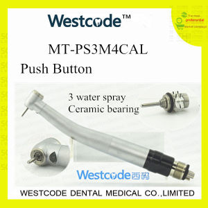 LED High Speed Push Button Dental Handpiece with Quick Coupling (MT-PS3M4CAL)