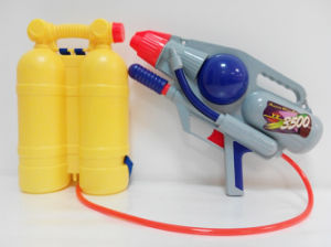 Summer Toys Pump Water Gun with Backpack (H0102211) pictures & photos
