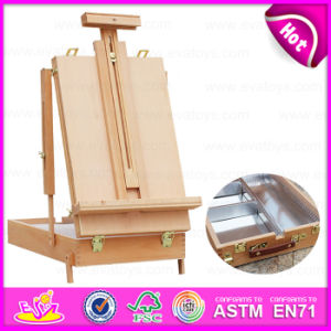 Table Top Wooden Dismantling Painting Easel, Professional Wooden Painting Easel Stand for Promotion W12b064 pictures & photos