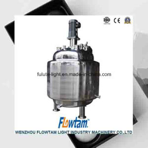Stainless Steel Heating Mixing Tank with High Speed Mixer pictures & photos