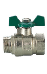 High Quality Brass Ball Valve (NV-1024) pictures & photos