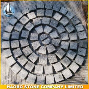 G603 Cheap Gray Granite Flamed Paving Stone pictures & photos