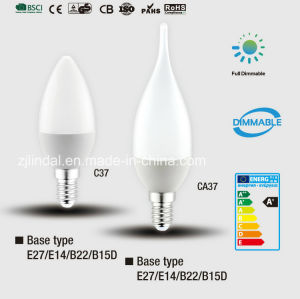 Dimmable LED Candle Bulb C37-Sbl pictures & photos