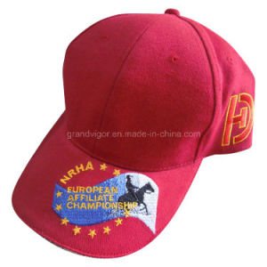 New Design Cotton Drill Sport Hat for Horse Race pictures & photos