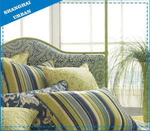 Home Textile Jacquard Stripe Pillow Cushion pictures & photos