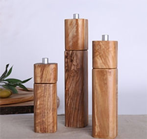 Manual Salt&Pepper Mill, Wood Salt and Pepper Mill, Bamboo Pepper Grinder pictures & photos