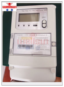 Three Phase Kwh Electric Energy Meters pictures & photos