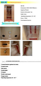 2017 Hotwind Hemlock Far Infrared Sauna for 2 Person-B2 pictures & photos