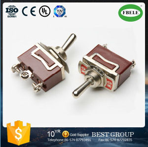 DIN Rail Mounted Toggle Switch 9 Pin Toggle Switch (FBELE) pictures & photos