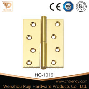 Loose Pin Brass Door Hinge with Flat Head pictures & photos