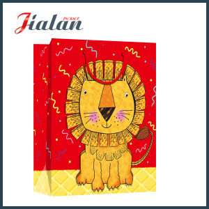 Cute Cartoon Animal Design Logo Printed Retail Paper Gift Bags pictures & photos