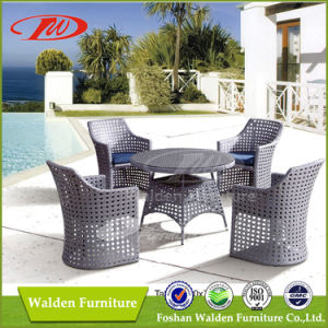 Rattan 4 Seating Dining Table Set (DH-6128) pictures & photos