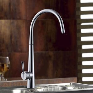 Chrome Plated Brass Kitchen Faucet