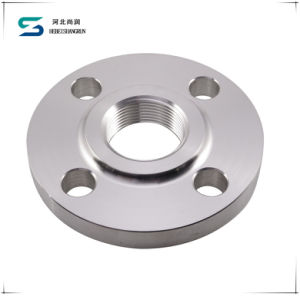 ANSI Stainless Carbon Steel Threaded Flange for Pipe Fitting pictures & photos