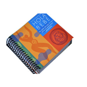 Spiral Binding Hard Cover Book Printing (jhy-046)