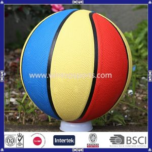 Customized Color Basketball in Any Size 1/2/3/5/6/7 for Promotion pictures & photos