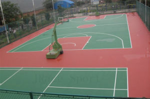 8layers Soft Bottom and Hard Top Tennis Court Coating pictures & photos