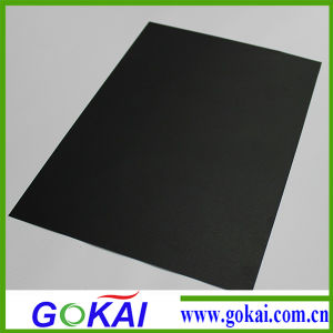 Black Color PVC Rigid Sheet at Good Price pictures & photos