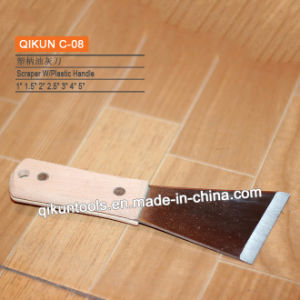 C-17 Plastic Handle Mirror Polished Stainless Steel Scraper pictures & photos