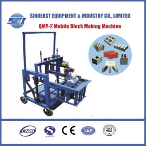 Qmy-2 Mobile Block Making Machine pictures & photos